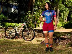 Macaquinho - SUPERGIRLS- Manga Curta - Macaquinho de Ciclismo