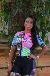 Macaquinho - Chiclete -Manga Curta - Macaquinho de Ciclismo