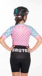 Camisa - Rosa Poás- Manga Curta - Camisa de Ciclismo