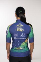 Camisa -Brasil Ride-Manga Curta - Camisa de Ciclismo
